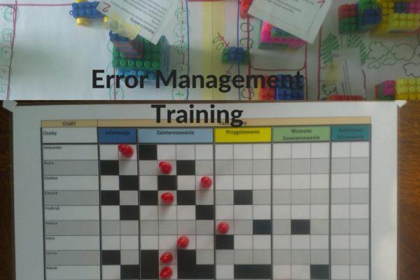 Zarządzanie błędami jako metoda szkoleniowa w obszarze zmian