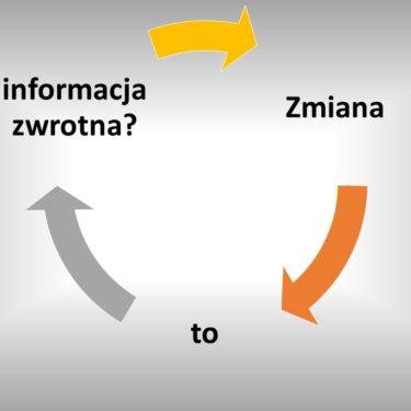 zmiana jest informacją zwrotną