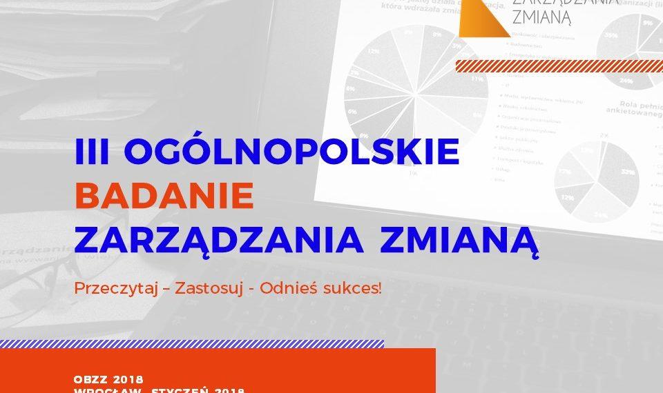 Ogólnopolskie Badanie Zarządzania Zmianą 2018
