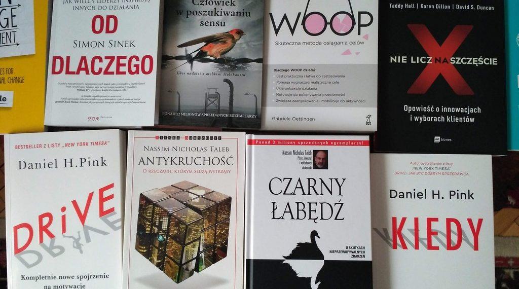 10 książek dla zarządzających zmianą na 2019 rok