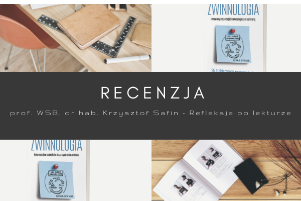 Zwinnologia - recencja książki - Krzysztof Safina